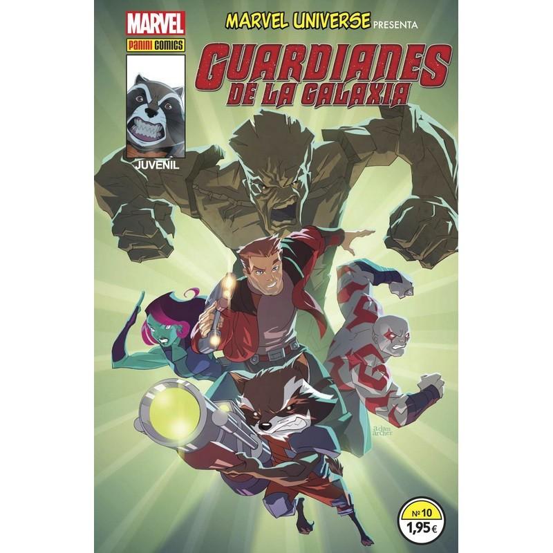 Marvel Universe Presenta 10. Guardianes de la Galaxia Comprar Panini Cómics
