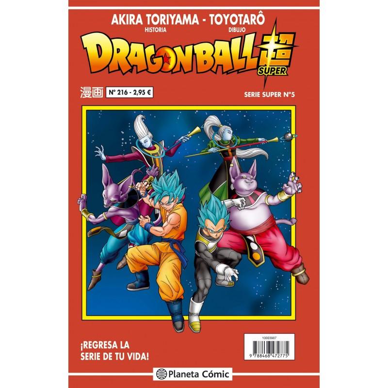 Dragon Ball 216. Serie Roja Planeta Comic Manga Toriyama