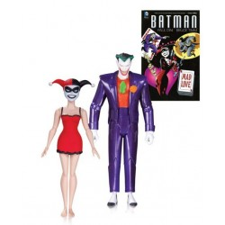Joker y Harley Quinn Mad Love Pack Figuras Batman The Animated Series