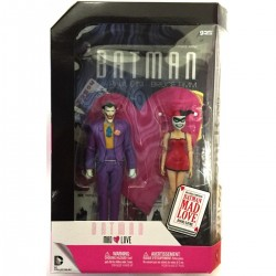 Joker y Harley Quinn Mad Love Pack Figuras Batman The Animated Series