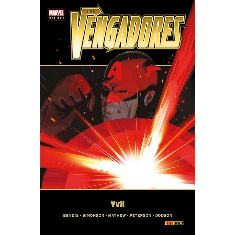 Los Vengadores 5 Marvel Deluxe Panini Comics