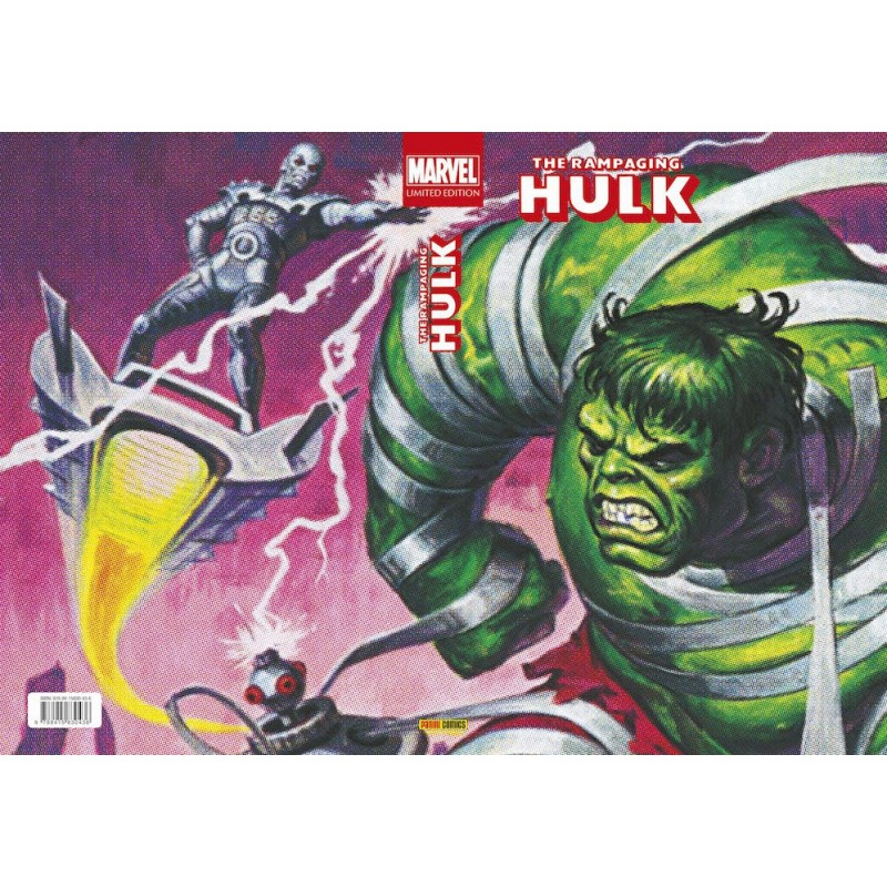 The Rampaging Hulk. Marvel Limited Edition