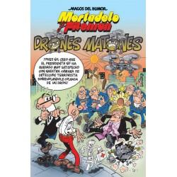Magos del Humor 185. Mortadelo y Filemón. Drones Matones Ediciones B