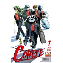 Cohete 33 Panini Comics guardianes de la galaxia