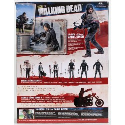 The Walking Dead. Figura Daryl Dixon Deluxe 25 Centímetros