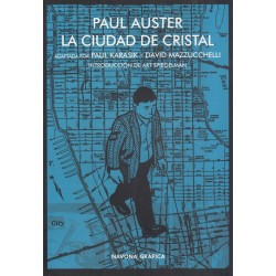 La Ciudad de Cristal Paul Auster Navona Comic