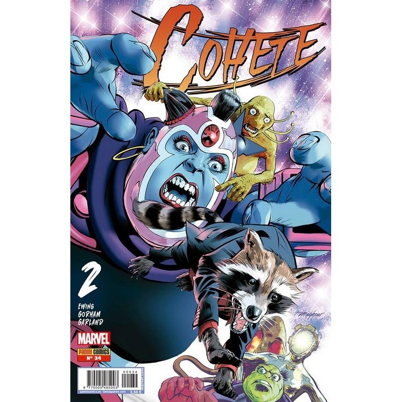 Cohete 34 Panini Comics guardianes de la galaxia