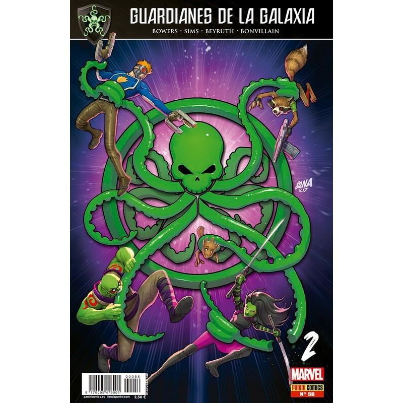 Guardianes de la Galaxia 56 Marvel Comprar Panini Comics
