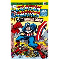 """Capitán América y el Halcón 6. La Era de la """"Bomba Loca"""" (Marvel Gold)"""