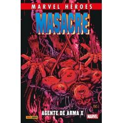 Masacre 4. Agente de Arma X (Marvel Héroes 84)