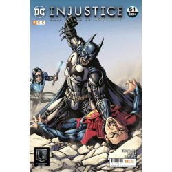 Injustice gods among us 54 ECC Comics videojuego