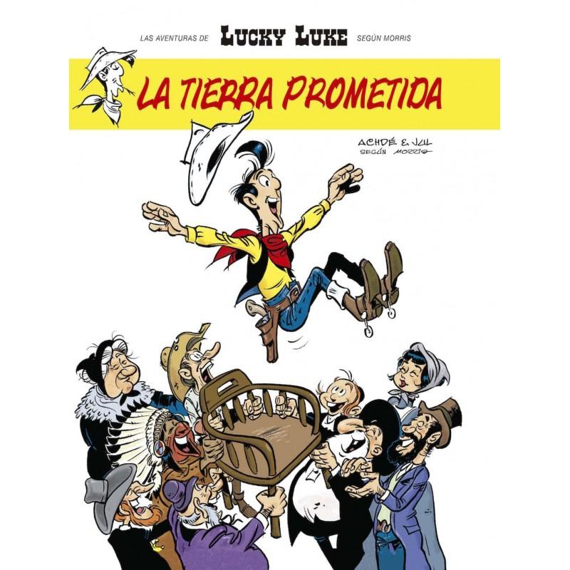 Lucky Luke La Tierra Prometida Ediciones Kraken
