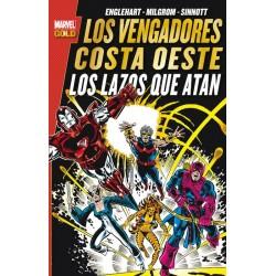 Los Vengadores Costa Oeste: Los Lazos que Atan (Marvel Gold)