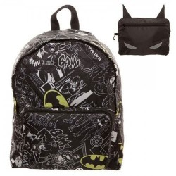 Mochila Plegable Batman Logo Bioworld DC Comics