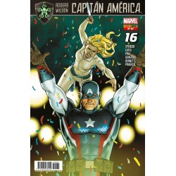 Capitán América. Rogers / Wilson 87 Panini Comics Marvel
