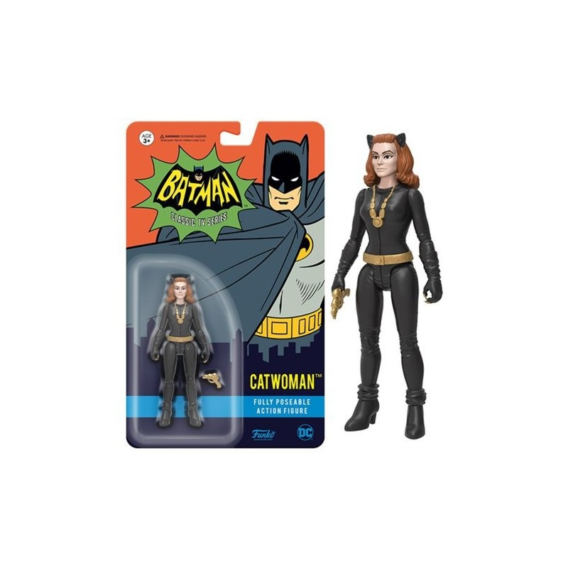 Figura acción Catwoman Serie TV 1966 Adam West Funko