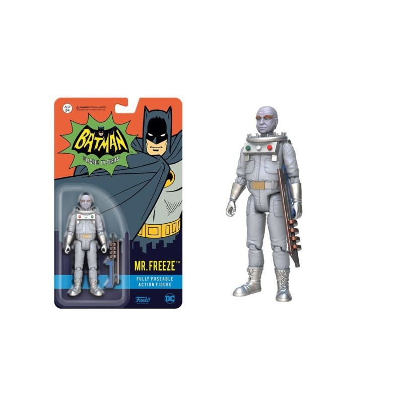 Figura acción Mister Freeze Serie TV 1966 Adam West Funko