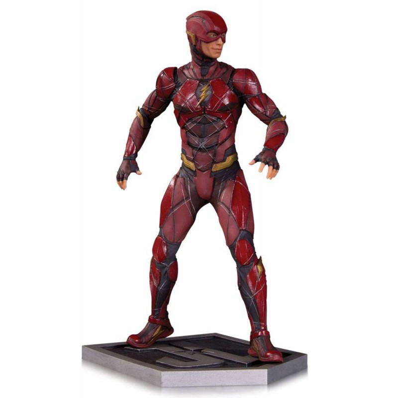 Estatua Flash Liga de la Justicia