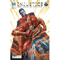 Injustice gods among us 55 ECC Comics videojuego