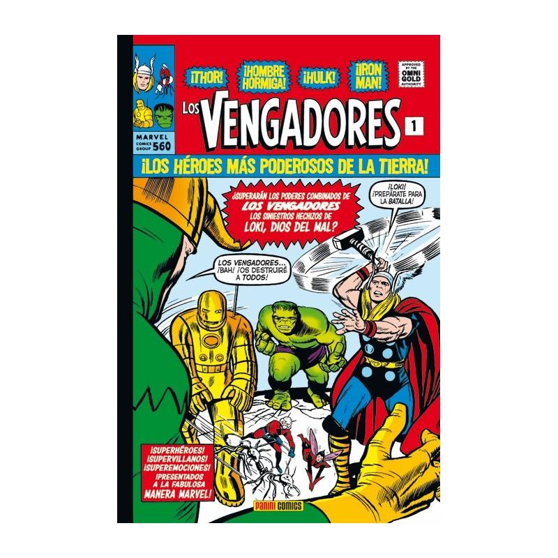 Los Vengadores 1. La Llegada de los Vengadores (Marvel Gold)