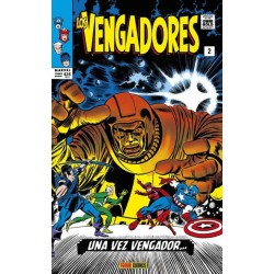Los Vengadores 2. Una Vez Vengador (Marvel Gold)