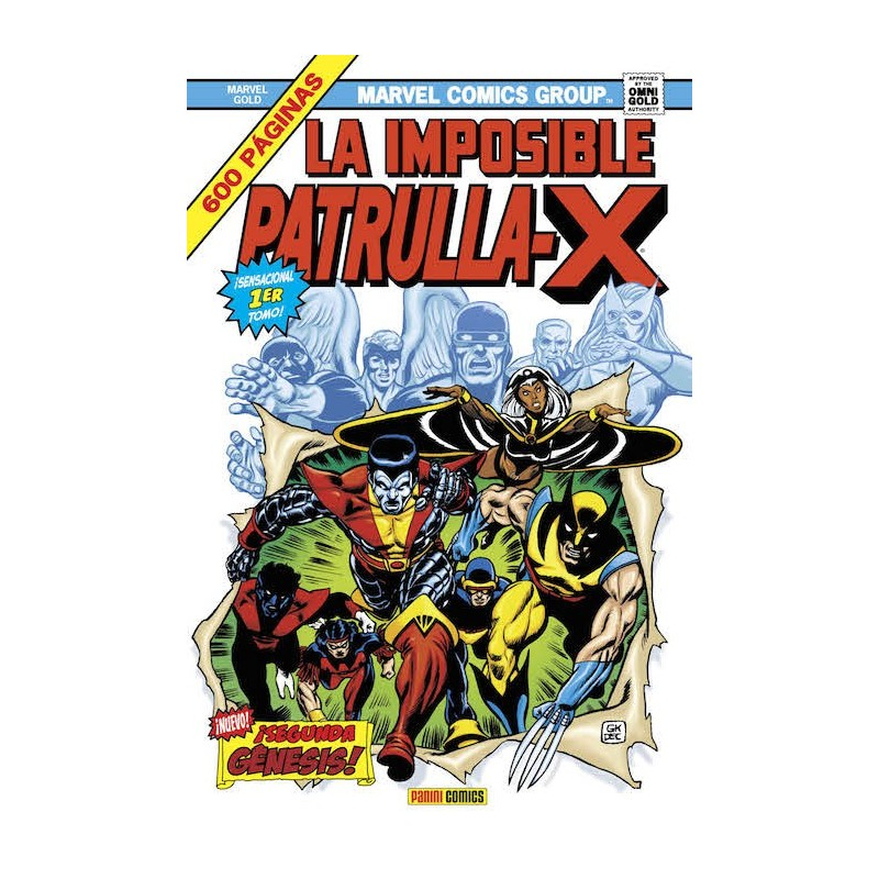 La Imposible Patrulla X 1. ¡Segunda Génesis! (Marvel Gold)