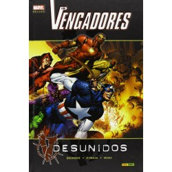 Los Vengadores. Desunidos Marvel Deluxe Panini Comics