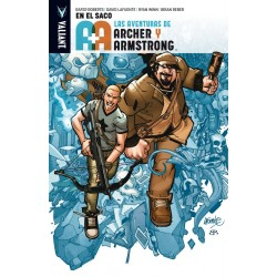 Las Aventuras de Archer y Armstrong. En el Saco Valiant Medusa Cómics Barcelona