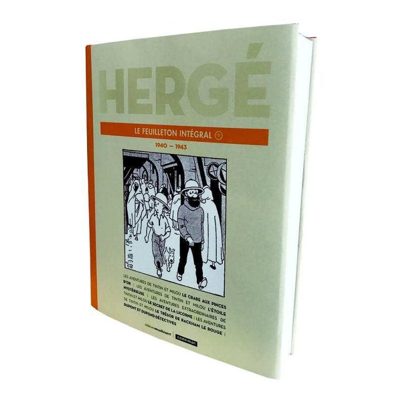 Tintin Hergé Le Feuilleton Intégral 9 1940-1943 Comprar Libro Francés