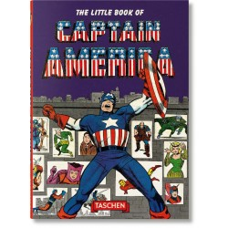 The Little Book of Captain America Taschen Comprar