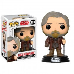 Luke Skywalker. Star Wars Episodio VIII POP Bobble Funko