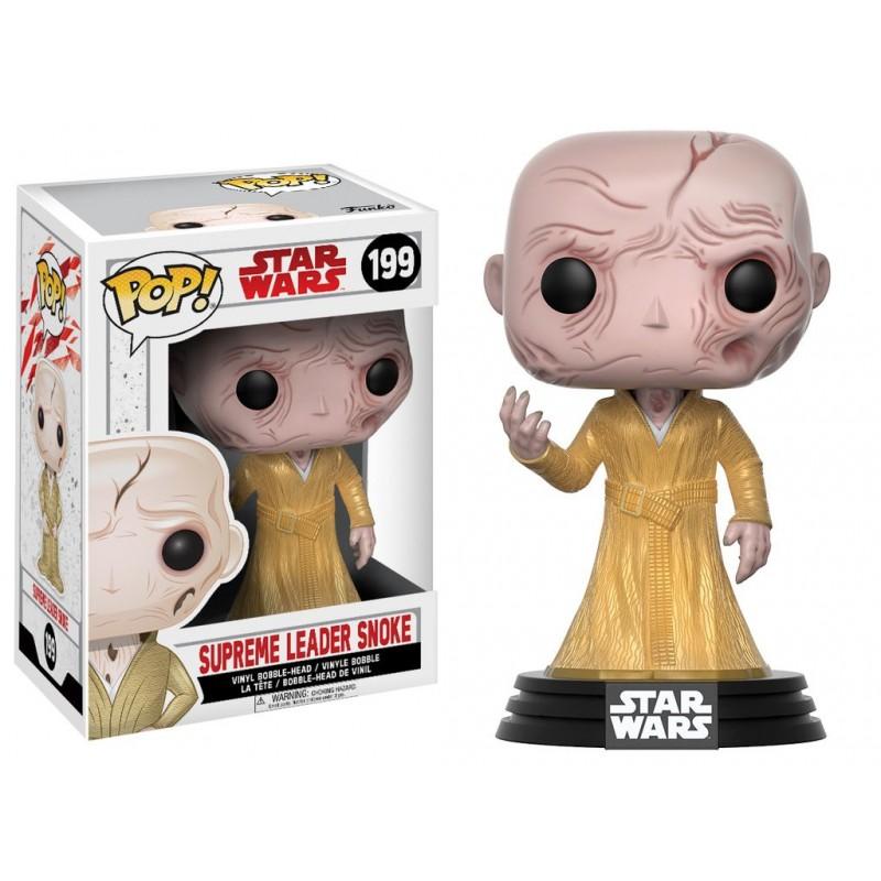 Figura Lider Supremo Snoke Funko Pop Star Wars Episodio VIII Comprar