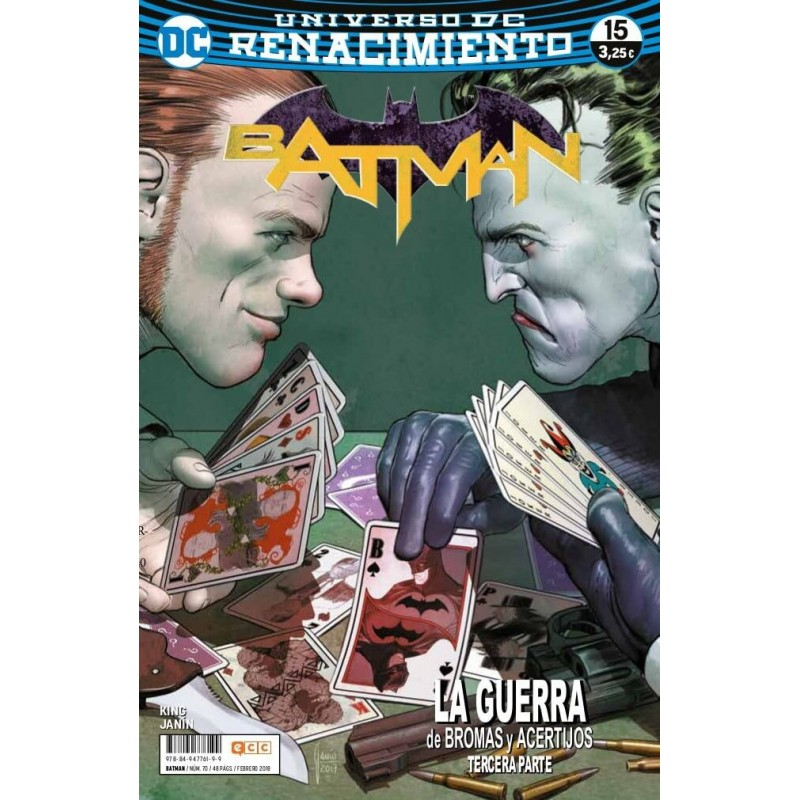 Batman 70 ECC Comics DC Renacimiento