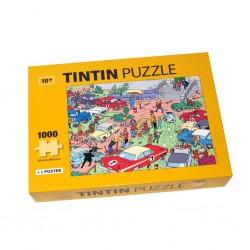 Puzzle Tintín Modelo Rally 1000 piezas