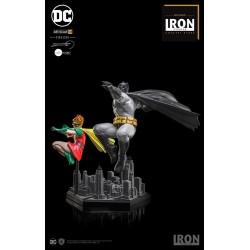 Batman y Robin Iron Studios Estatua Dark Knight Returns Comprar