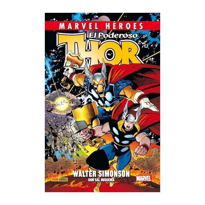 Thor de Walter Simonson 1 (Marvel Héroes 48)