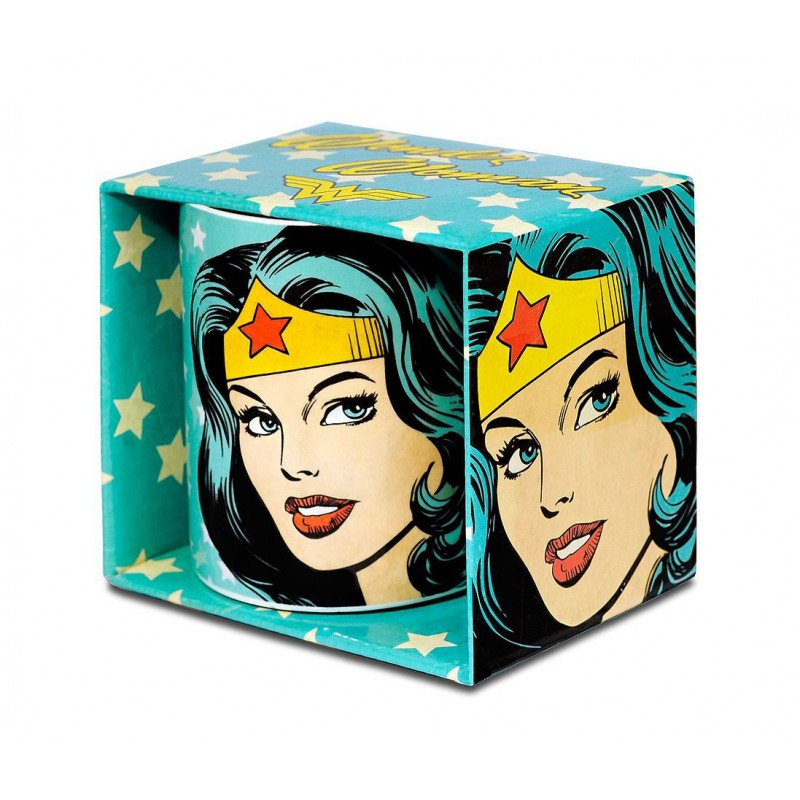 taza wonder woman retrato comprar