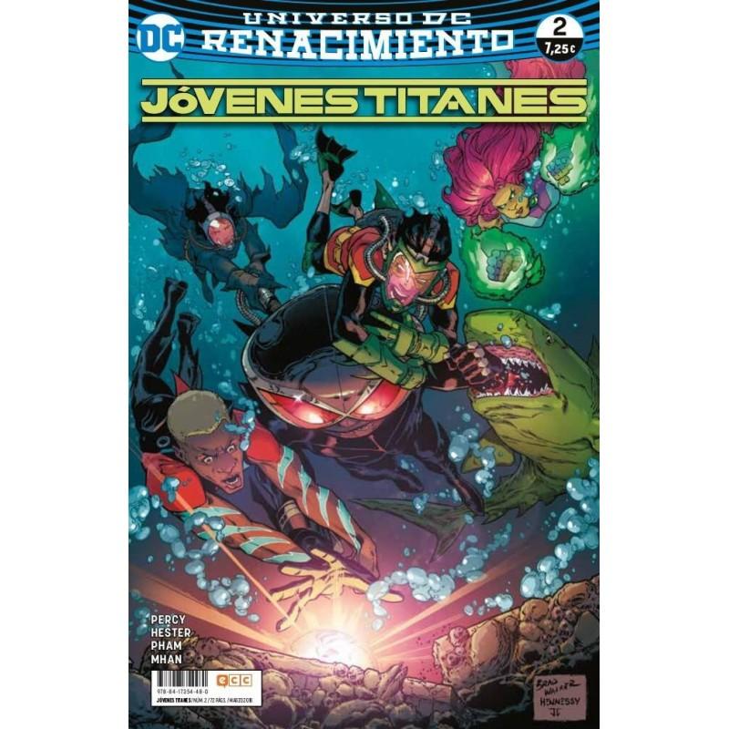 Jóvenes Titanes 2 ECC Ediciones DC Comics