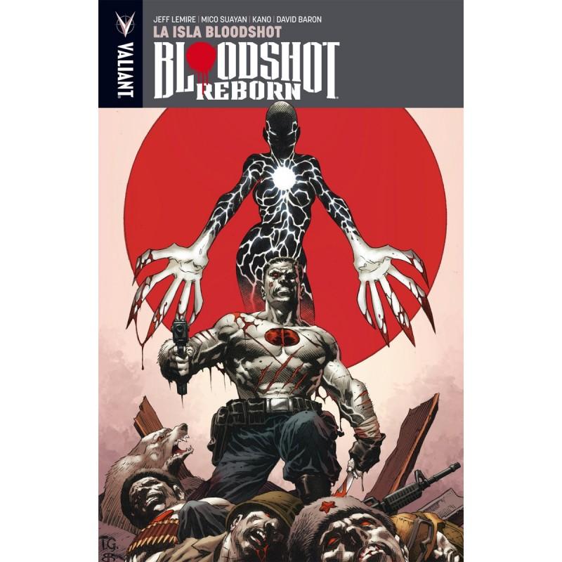 Bloodshot Reborn 4 Valiant Medusa Cómics Barcelona