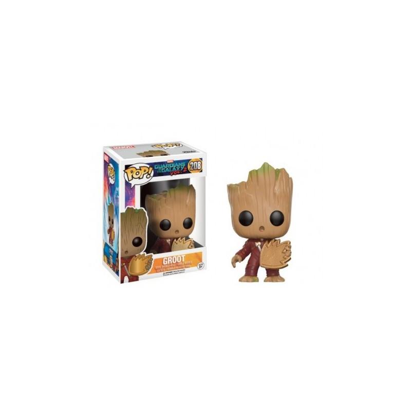Young Groot con Escudo 208 Funko POP Guardianes de la Galaxia Comprar