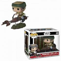 Leia Speeder Bike Funko Pop Star Wars Retorno del Jedi Comprar