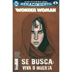 Wonder Woman 22 Renacimiento DC Comics ECC Ediciones
