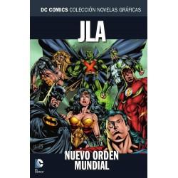 Colección Novelas Gráficas 52. JLA. Nuevo Orden Mundial