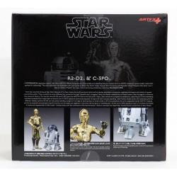 Star Wars. Figuras C-3PO y R2-D2 ArtFX+ Kotobukiya
