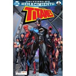 Titanes 3 ECC Ediciones DC Comics