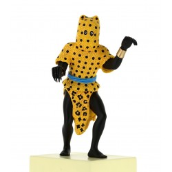 Hombre Leopardo Colección Museo Imaginario Figura Resina Comprar