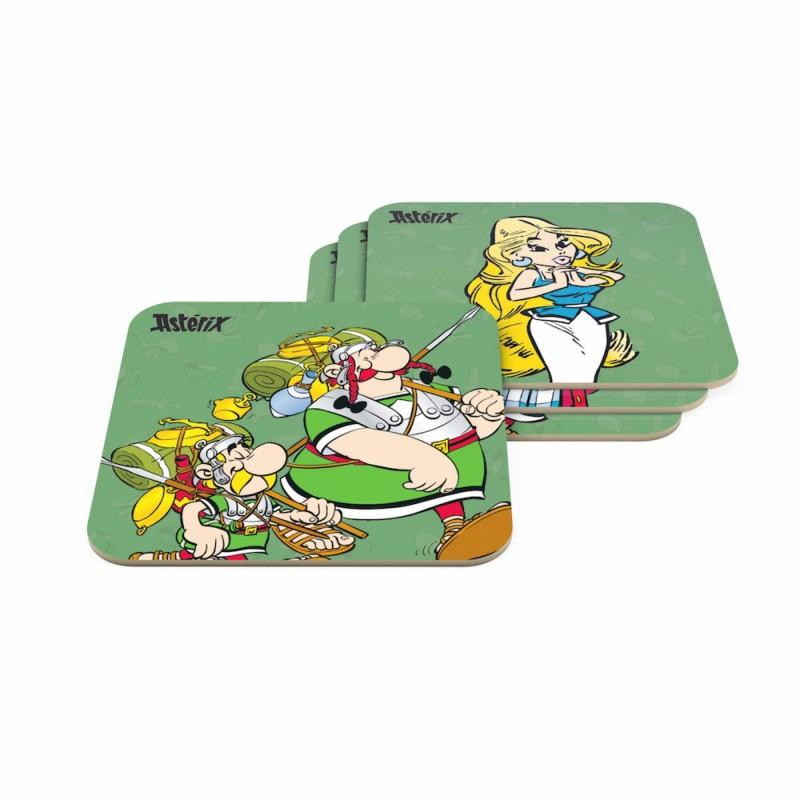 Asterix Set Posavasos Legionarios Oficial