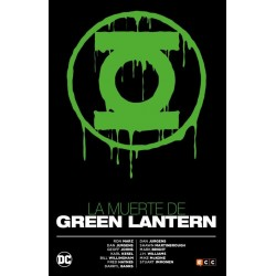 La muerte de Green Lantern ECC Comics Barcelona