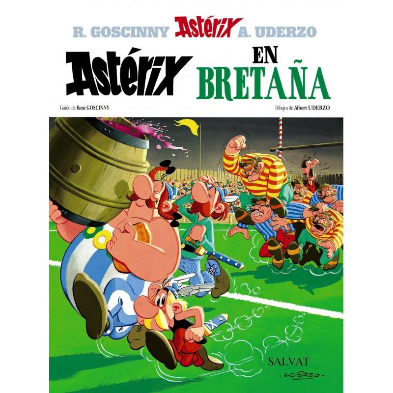 Astérix 8. Astérix en Bretaña