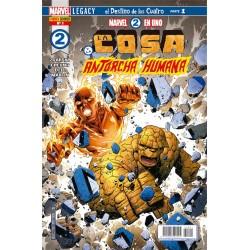 Marvel 2 en 1. La Cosa y la Antorcha Humana 1 Panini Comics